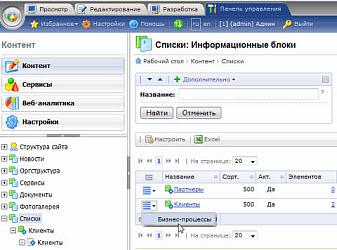 Админка на битриксе возможно ли редактирование документов портала через внешние сервисы битрикс