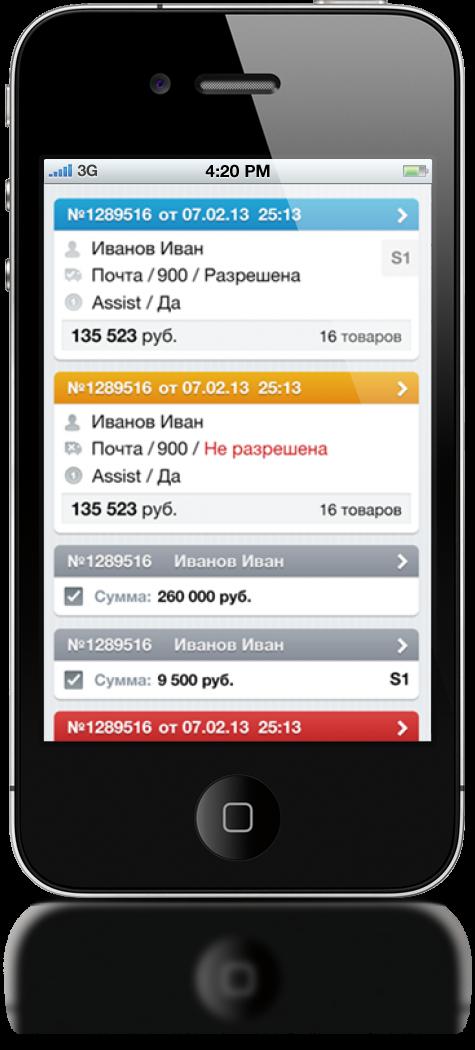 Мобильное приложение для администрирования