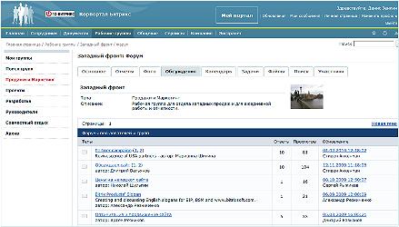 Интеграция почты с групповыми форумами