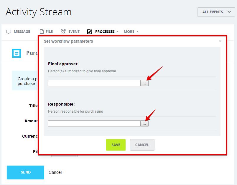 [Workflows] Activity Stream: Yêu cầu mua hàng 9