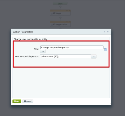 sample a incorrect modifications in crm record forced by 2 business process action blocks - Business Process Documentation Sample