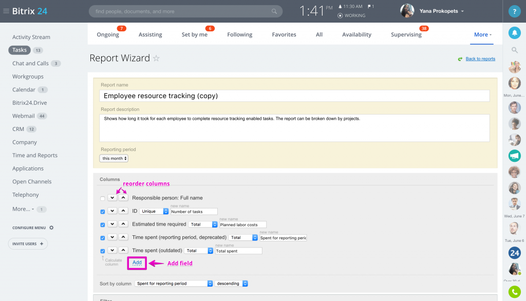 workload tracker