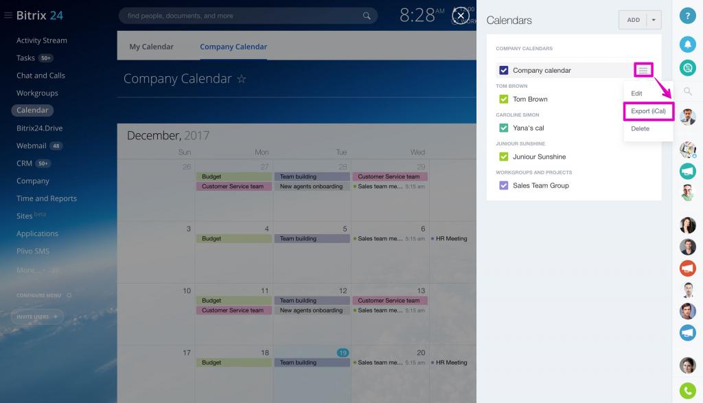 Поиск по календарю битрикс битрикс курс разработчика