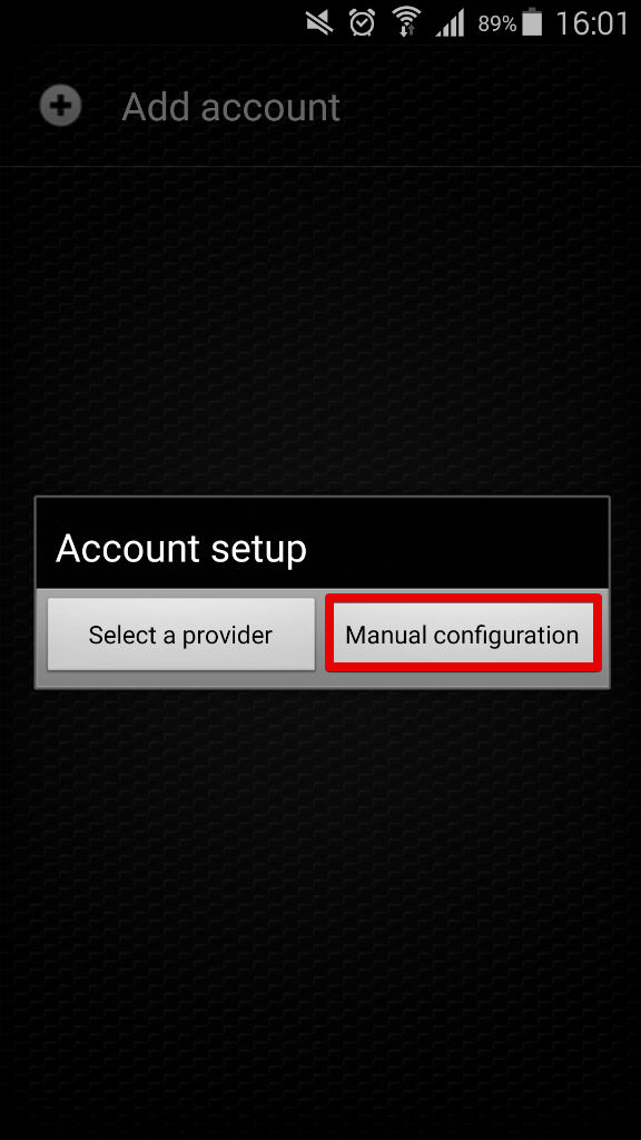 Zoiper softphone configuration for Android