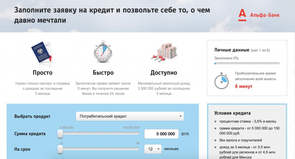Альфа-Банк — БАНКСПБ ру